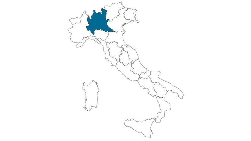 contact person, sales representative, profile and map, Fermo Mombrini, Rockfon, IT
