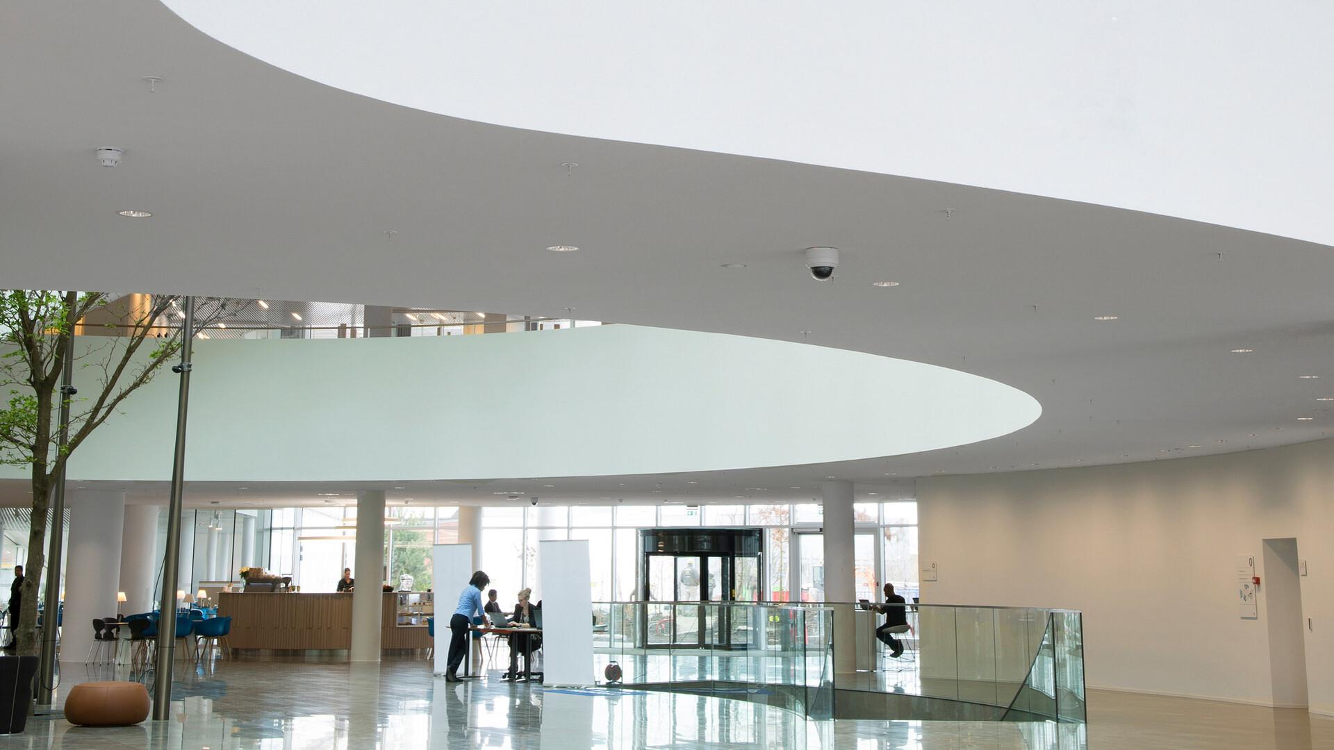 Prodotti installati: Rockfon® Mono® Acoustic, TE Elegant Render, 1200 x 1200