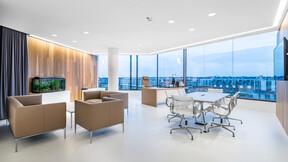 The office of Sygnity S.A.,Poland,Warsaw,800 m²,Krzysztof Skłodowski,ks architekci,DEKORATOR Sp. z o.o.,Bartosz Makowski,ROCKFON Mono Acoustic